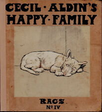 CECIL ALDIN ILLUSTRATED TERRIER DOG BOOK RAGS HIS ADVENTURES BY MAY BYRON 1912