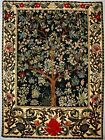 """NEW 26"""" TREE OF LIFE WM MORRIS TAPESTRY WALL HANGING"""