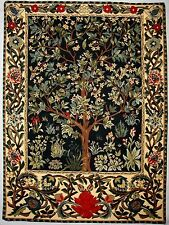 "NEW 26"" TREE OF LIFE WM MORRIS TAPESTRY WALL HANGING"