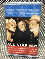 ALL-STAR JAM cassette Kris Kristofferson country Willie Nelson NEW Mel Tillis