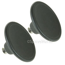 2 x UNIVERSAL 4.5cm Glass Lid Knob For Slow Cooker Saucepan Casserole Dish Black