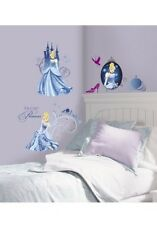JOY TOY Wandsticker, »Disney's Cinderella - Glamour Wandtattoos«