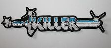 Killer, bande logo patch, rar, rare