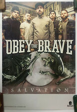 Music Poster Promo Obey The Brave ~ Salvation