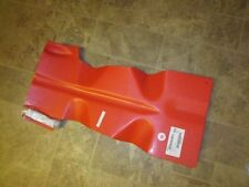 Polaris Fusion red skid plate new 2875075-293