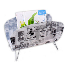 Magazine rack Magazine Rack Newspaper holder Newspapers Magazine NEWS PAPER
