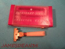 Schick Eversharp  Injector Razor + Orig Case,