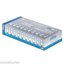 10x ba7s 2w velocímetro iluminación amaturenbrettbeleuchtung 12v 10 piezas