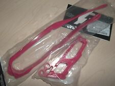 New Red Chain Slider Guide Combo Honda CR125 CR250 CRF250 R X CRF450 CR CRF