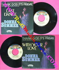 LP 45 7'' DONNA SUMMER Last dance With your love 1978 france no cd mc dvd
