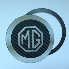 Magnetic Tax disc holder fits any mg mgf zt silver a