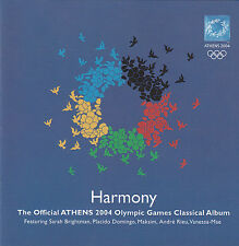 Olympic Games-Athens-2004-Harmony Classical Album-Orig Soundtrack-17 Track-CD