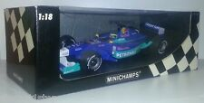 1:18 Scale Minichamps Felipe Massa 2002 Sauber Petronas Showcar !! OLD STOCK !!