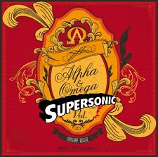 SUPERSONIC ALPHA & OMEGA  REGGAE MIX CD