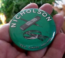 1950's NICHOLSON FILES CELLULOID POCKET MIRROR..NOS & NICE!