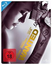 Wanted - Angelina Jolie Blu-ray Limited Edition Steelbook - Region Free