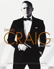 007 - Daniel Craig Collection (3 Blu Ray) Cofanetto NUOVO