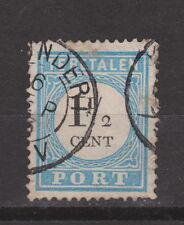 A3P4 Port nr.4 tanding A type 3 used NVPH Nederland due stamp