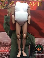 "Kings Toy Joseph Stalin Soviet Russian 12"" Nude Body Fat loose 1/6th scale"