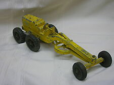 Vintage Hubley Kiddie Toy Yellow Grater Construction Equipment Toy Lancaster Pa.