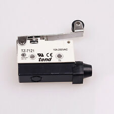 2Pc TZ-7121 Long Hinge Roller Lever Momentary Micro Limit Switch Ui 380V Ith 10A