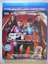 Spy Kids: All the Time in the World (3D/2D/DVD COMBO, 2011)