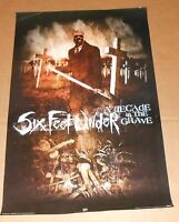 Six Feet Under A Decade in the Grave Poster 2005 Original 34x24 RARE