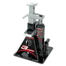 Powerbuilt 640912 All-In-One 3-Ton Bottle Jack with Jack Stand New