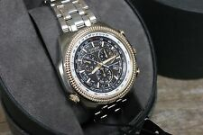Citizen Mens Eco-Drive BL5406-56F Perpetual Calendar Stainless Steel Solar Watch