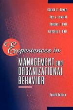 Experiences in Management and Organizational Behavior-ExLibrary