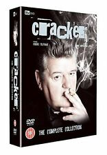 Cracker Complete Collection Box Set Robbie Coltrane Brand New DVD