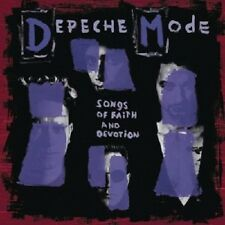 DEPECHE MODE - SONGS OF FAITH AND DEVOTION  CD  10 TRACKS INTERNATIONAL POP  NEU