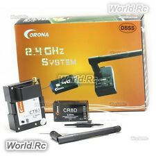 Corona 2.4Ghz CT8J Module & CR8D 2.4GHz DSSS 8CH Receiver For R/C Model