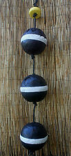 Authentic Beachcombed Key West Lobster Crab Trap Buoy Float Set #2
