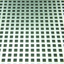 Perforated Metal Sheet 200 x 150mm 0.6mm Thickness