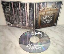 CD MS MR - SECONDHAND RAPTURE
