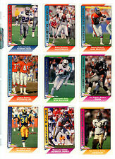 1991 Pacific Football : Pick 10 Cards To Complete Your Set $ 1.50 NM/M