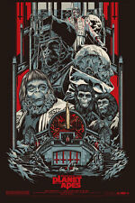 Beneath the Planet of the Apes MONDO Ken Taylor SOLD OUT Ltd Ed Variant Print!