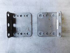 99 1999 HONDA PASSPORT RADIO/CASSETTE AND CD PLAYER BRACKETS HOLDERS OEM #G-76