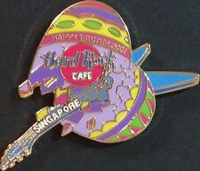 Hard Rock Cafe SINGAPORE 2001 EASTER PIN Broken EGG with GUITAR 300 - HRC #8811
