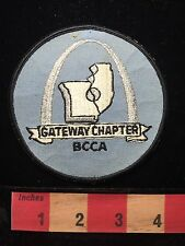 Vtg BCCA Patch Beer Brewery Collectibles Club Of America Gateway Chapter MO 64K3