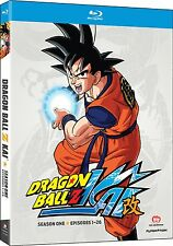 DRAGON BALL Z KAI - COMPLETE SEASON 1 -  Blu Ray - Sealed Region free