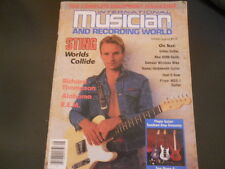 Sting, Alabama, R.E.M., Richard Thompson - International Musician Magazine 1985