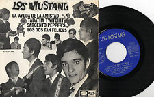 LOS MUSTANG - Sargento Pepper's  + 3, EP SPAIN 1967 BEATLES