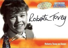 Dr Doctor Who Big Screen Additions Auto Card A3 Roberta Tovey as Susan
