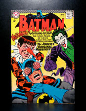 COMICS: DC: Batman #186 (1966), 1st Gaggy app - RARE (justice league/joker)