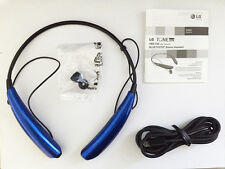 New OEM Geniune LG Tone PRO HBS-750 Wireless Bluetooth Stereo Headset -Blue