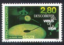 Andorra 1994 Europa/AIDS/Medical/Health/Welfare 1v (n39388)
