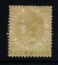 Malaya Straits Settlements - 1882- SG50 - 2c Brown - Mounted Mint