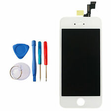 BN IPHONE 5S WHITE/SILVER TOUCH SCREEN DISPLAY ASSEMBLY +TOOLS FOR 64GB MODEL
